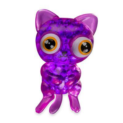 Mini-Figura-Esticavel---ORB-Bubbleezz-Animals---Gato-Roxo---Sunny