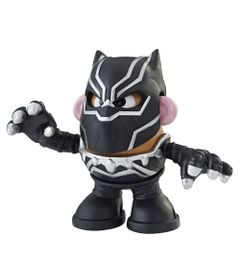 Mini-Figura-Transformavel---Mr.-Potato-Head-Black-Panther---Hasbro