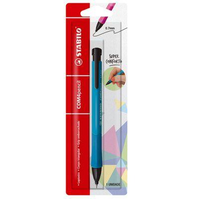 Lapiseira-07mm---Com4Pencil---Azul---Stabilo