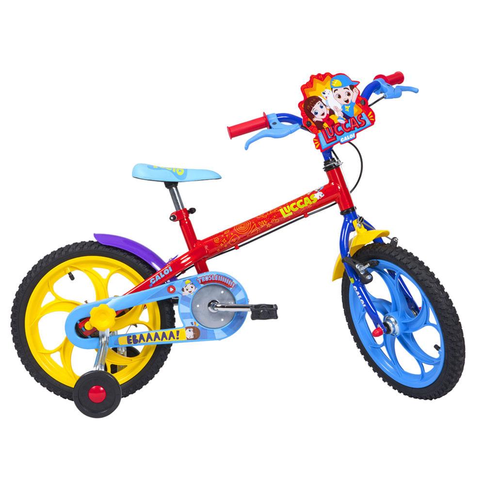 Bicicleta Aro 16 - Luccas Neto - Caloi
