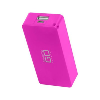carregador-portatil-power-bank-smartgo-rosa-multikids-CB097_Frente