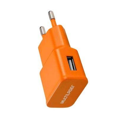 carregador-usb-smartgo-laranja-multikids-CB080_Frente