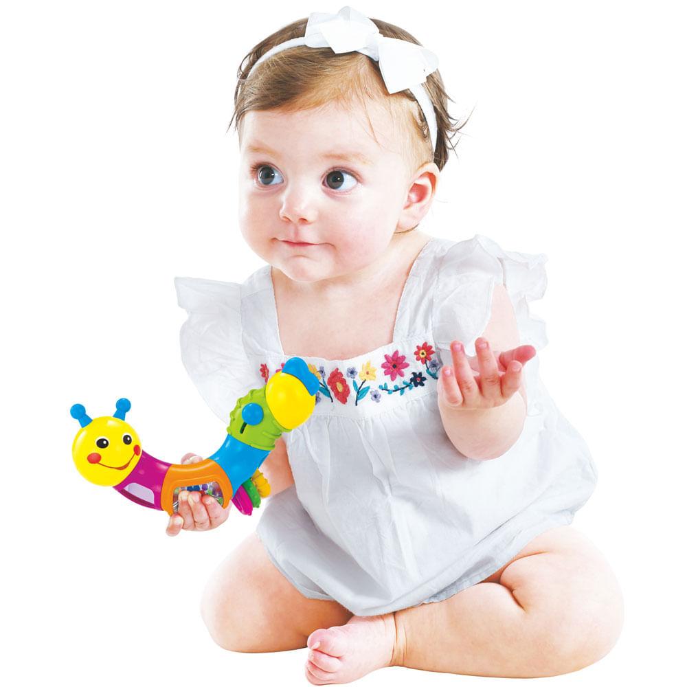 Brinquedo de Atividades - Lagarta Giratória - Minimi