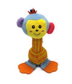 Chocalho-com-Mordedor-de-Pelucia---Macaco---Love