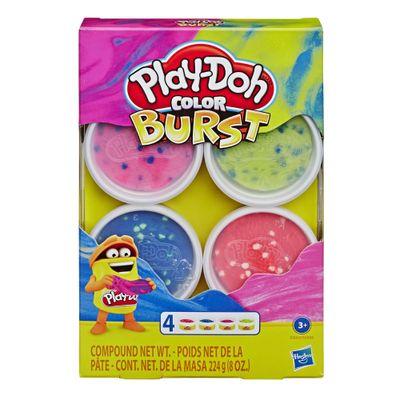 massa-de-modelar-play-doh-core-color-burst-azul-vermelho-rosa-e-verde-hasbro-E6966_Frente
