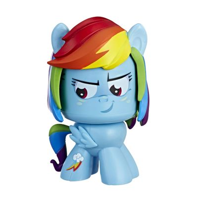 Figura-de-Acao---Mighty-Muggs---My-Little-Pony---Fluttershy---Hasbro