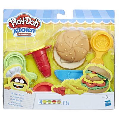 Massa-de-Modelar---Play-Doh---Conjunto-Hamburger-Divertido---Hasbro