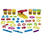 Massa-de-Modelar---Play-Doh---Fabrica-Divertida-de-Luxo---30-Pecas---Hasbro