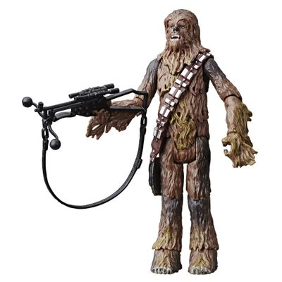 Mini-Figura-Colecionavel---Disney---Star-Wars---Vintage---Chewbacca---Hasbro