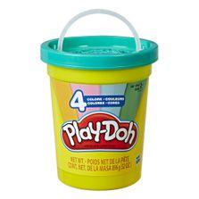 Massa-de-Modelar---Play-Doh---Super-Pote---896-Gr---Azul---Hasbro