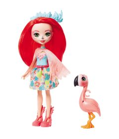 Boneca-Fashion-e-Animal---Enchantimals---Fanci-Flamingo-e-Swash---Mattel