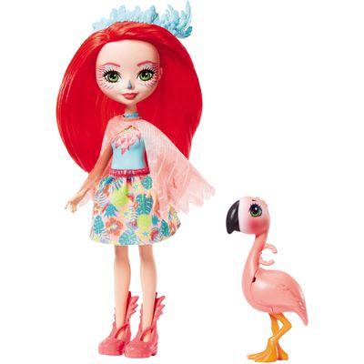 Boneca-Fashion-e-Animal---Enchantimals---Fanci-Flamingo-e-Swash---Mattel
