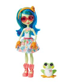 Boneca-Fashion-e-Animal---Enchantimals---Tamika-Tree-Frog-e-Burst---Mattel