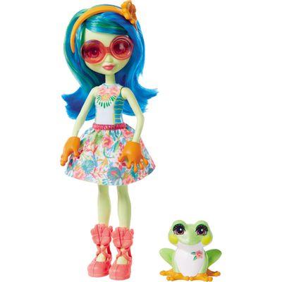 Boneca-Fashion-e-Animal---Enchantimals---Tamika-Tree-Frog-e-Burst---Mattel