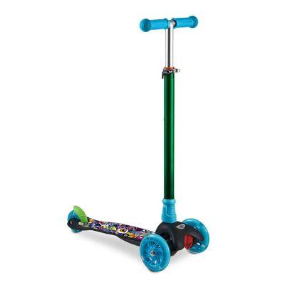 patinete-3-rodas-monster-azul-e-verde-led-e-guidao-ajustavel-multikids-es114_frente