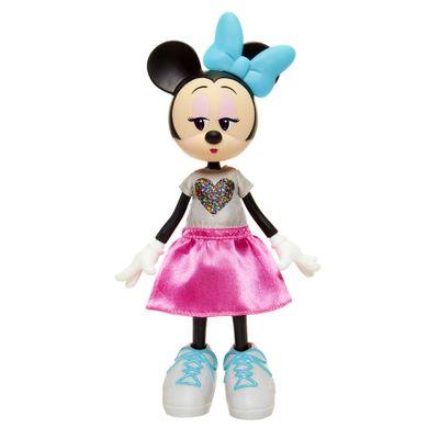 Boneca-Articulada-com-Acessorios---Disney---Minnie-Mouse-Fashion---Laco-Azul---Minimi