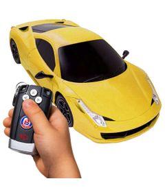 Veiculo-de-Controle-Remoto---14-Funcoes---Sport-F458---Amarelo---Polimotors