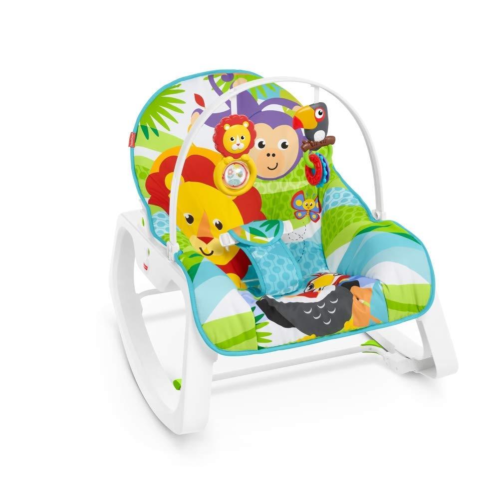 Cadeirinha de Descanso - Infant-to-Toddler Rocker - Macaquinho e Leão - Fisher-Price