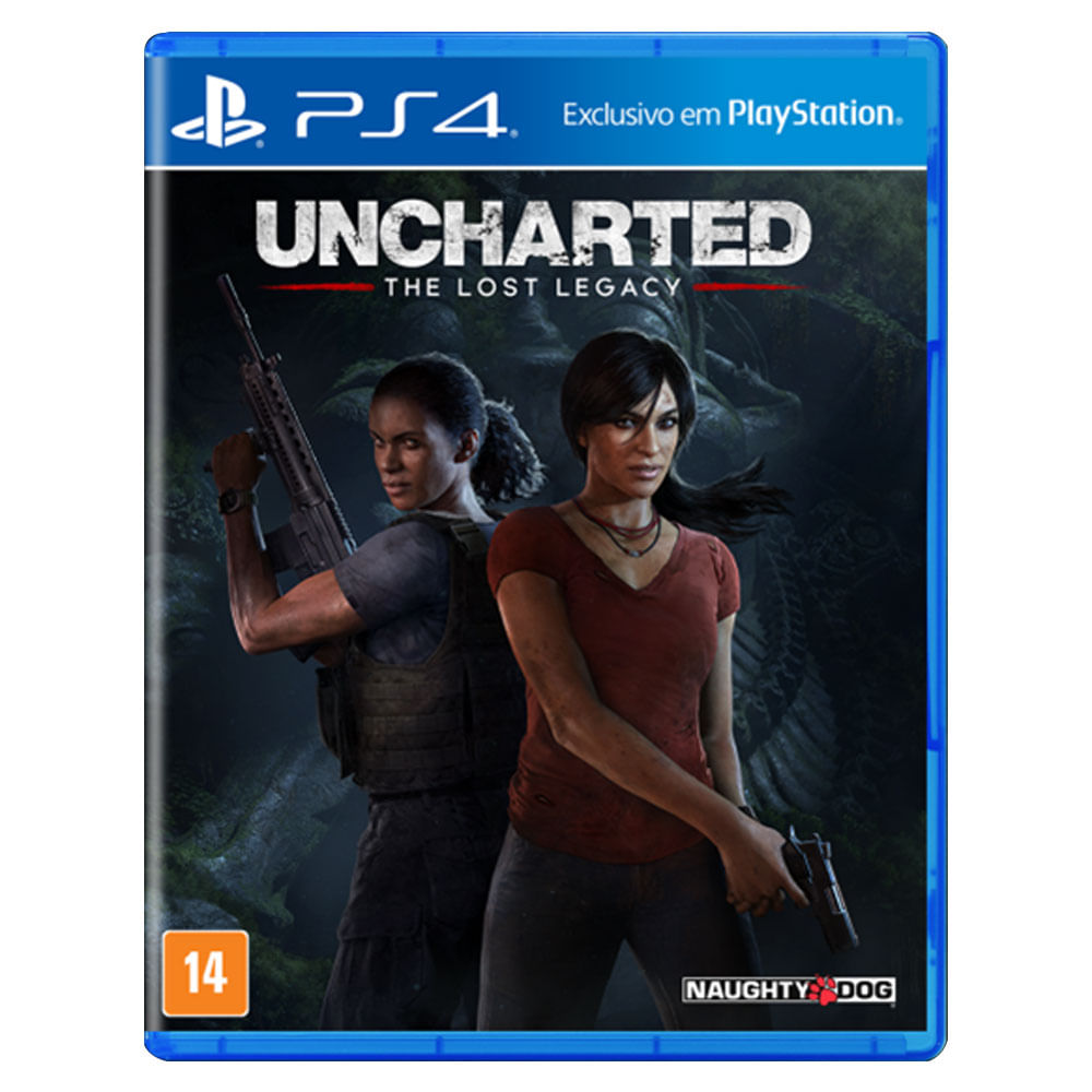 Jogo PS4 - Uncharted The Lost Legacy - Sony