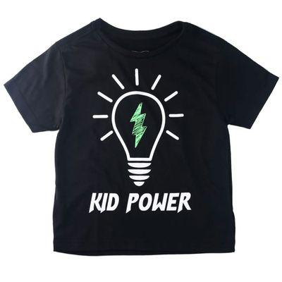 camisa-manga-curta-kid-power-100-algodao-preto-minimi-1-501288_Frente