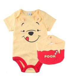 conjunto-infantil-body-manga-curta-e-bandana-pooh-100-algodao-amarelo-disney-p-67604_Frente