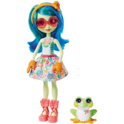 Boneca-Fashion-e-Pet---Enchantimals---Tamika-Tree-Frog-e-Burst---Hasbro