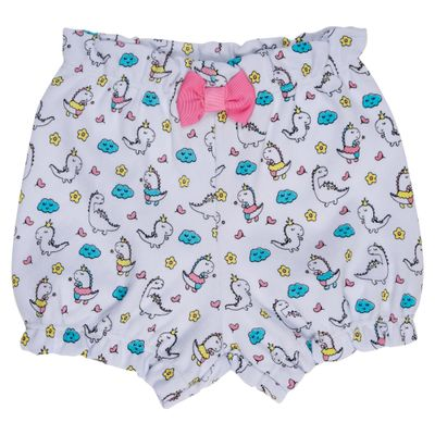 short-infantil-balao-dinas-coloridas-algodao-branco-minimi-p-67294_frente