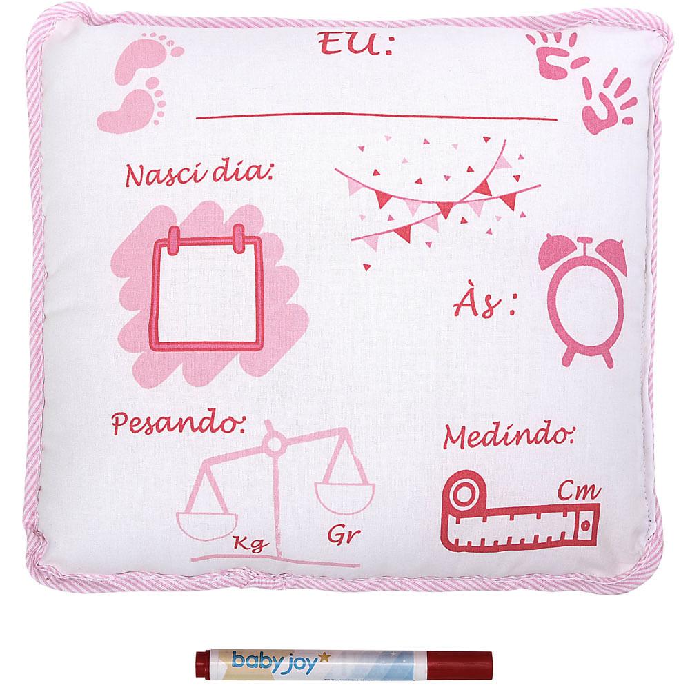 Almofada Decorativa - Preciosa - Estampada - Meninas - Baby Joy - Incomfral