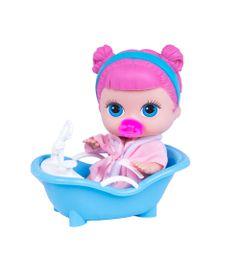 Boneca-com-Acessorios---Lil-Cutesies---Unicornio---Cabelo-Rosa---Banheira-Azul---Cotiplas