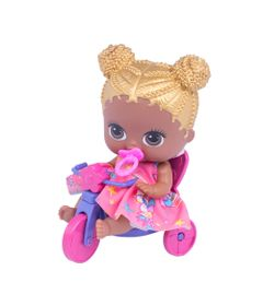 Boneca-com-Acessorios---Lil-Cutesies---Unicornio---Morena---Vestido-rosa---Cotiplas