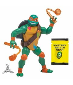 Figura-Articulada---10-Cm---Ascensao-dos-Tartarugas-Ninja---Michelangelo-Casco-de-Batalha---Sunny