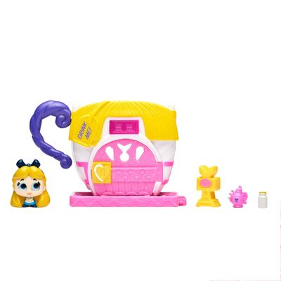 Mini-Playset-e-Mini-Figura---Disney---Doorables---Xicara-de-Cha-da-Alice---DTC