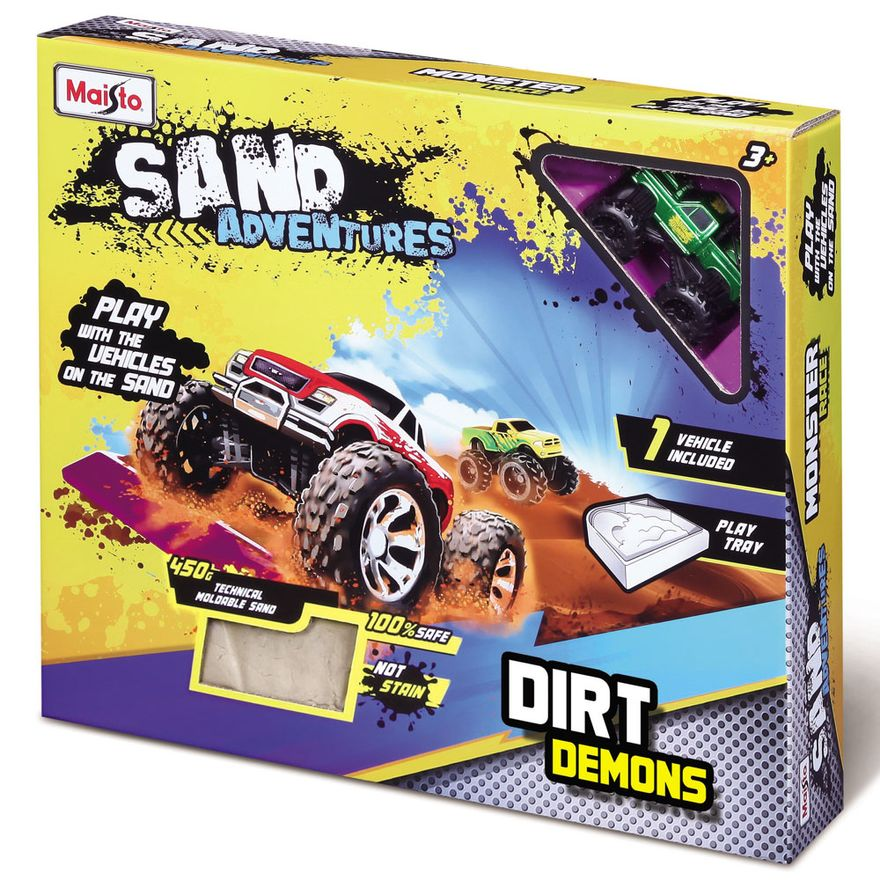 conjunto-de-arena-e-mini-veiculo-sand-adventure-dirt-demons-maisto-1911500_detalhe1
