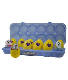 Conjunto-de-Mini-Figuras-Surpresa---Hatchimals-Colleggtibles---One-Dozen-Egg-Roxo---Serie-3---Sunny
