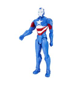 Figura-Articulada-30cm---Titan-Hero-Series---Marvel-Avengers---Iron-Patriot---Hasbro