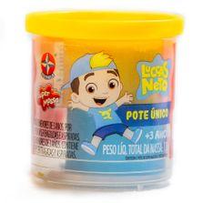 Massa-de-Modelar---Super-Massa---Luccas-Neto---Pote-Unico---110Gr---Azul-e-Amarelo---Estrela