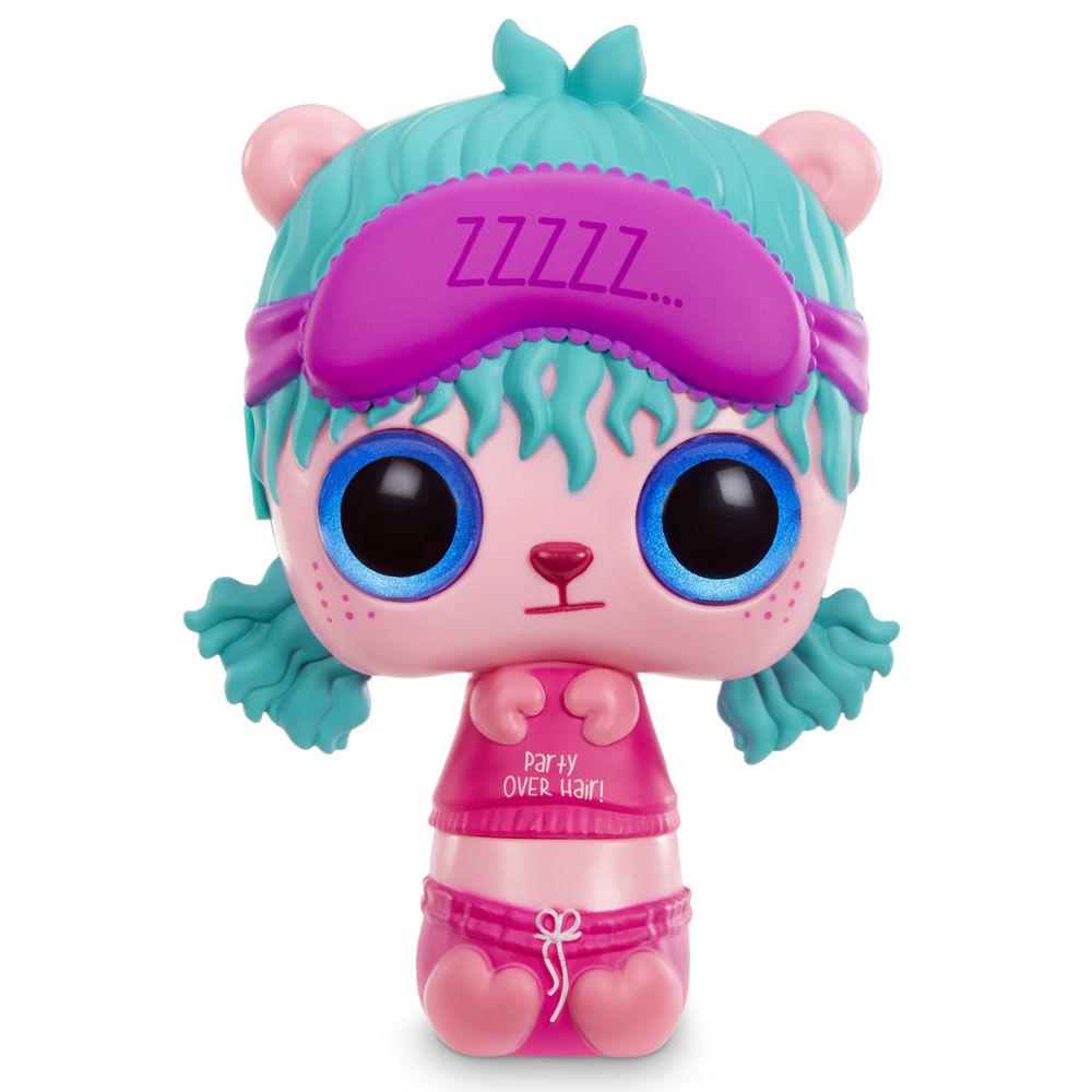 Mini Boneca e Acessórios Surpresa - Pop Pop Hair - 3 em 1 - Snooze - Candide