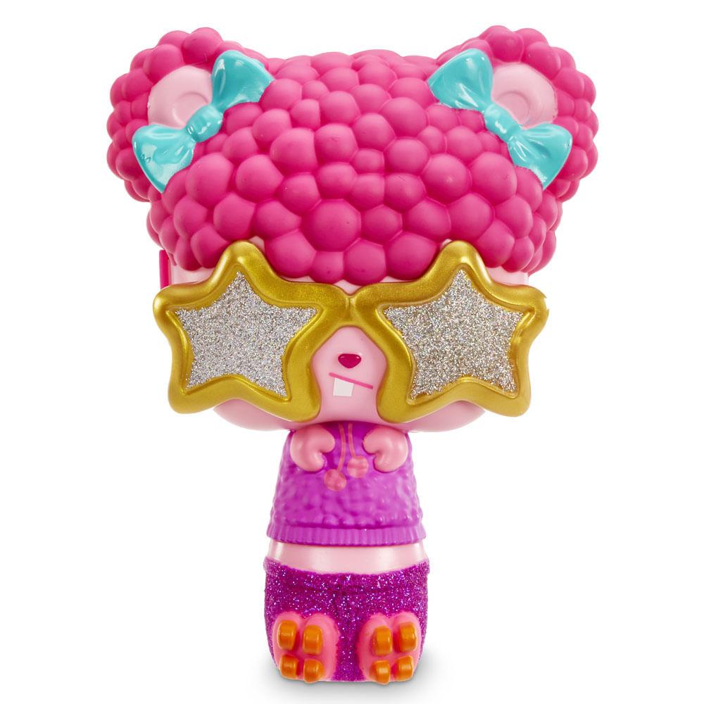 Mini Boneca e Acessórios Surpresa - Pop Pop Hair - 3 em 1 - Funky - Candide