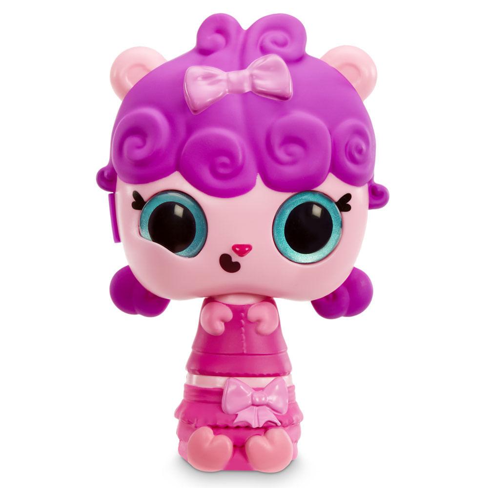 Mini Boneca e Acessórios Surpresa - Pop Pop Hair - 3 em 1 - Fancy - Candide