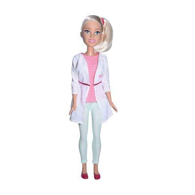Boneca Barbie 67 Cm Barbie Veterinaria Pupee