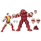 Conjunto-de-Figuras-Articuladas---Disney---Marvel-80-Years---X-Men---Colossus-Vs-Juggernault---Hasbro