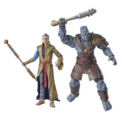 Conjunto-de-Figuras-Articuladas---Disney---Marvel-Legends---Grandmaster-e-Korg---Hasbro
