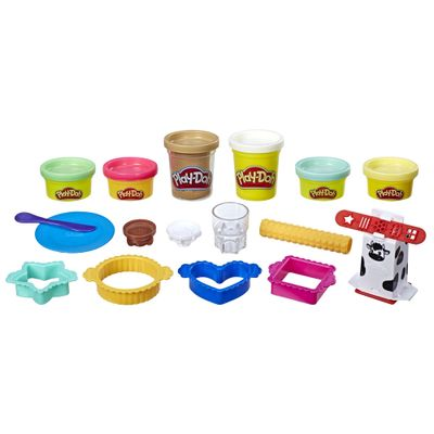 Massa-de-Modelar---Play-Doh---Kitchen-Creations---Leite-e-Biscoitos---Hasbro
