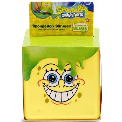 Figura com Slime - Cubos - Bob Esponja - Mattel
