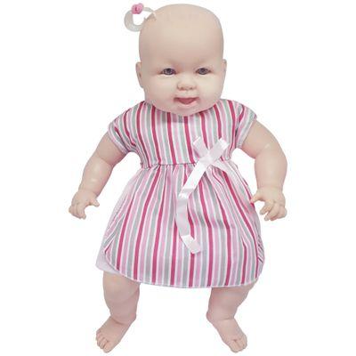Boneca-Bebe---Sonho-Azul---120-Frases---Vestido-Listrado---Cotiplas_Frente