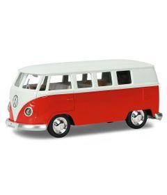 mini-veiculo-1-32-hot-wheels-com-luzes-e-sons-volkswagen-kombi-vermelho-e-branco-california-toys-CALHOT18_frente