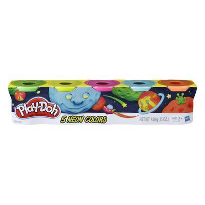 massinha-play-doh-5-potes-cores-neon-hasbro-E5369_Frente
