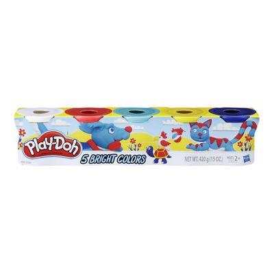 massinha-play-doh-5-potes-cores-brilhantes-hasbro-E5369_Frente