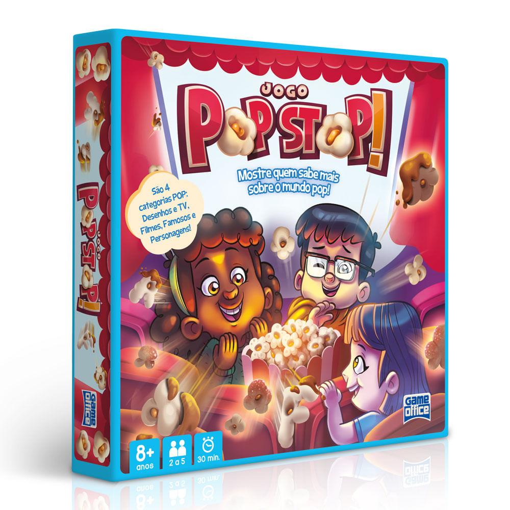 Jogo - Pop Stop - 2 a 5 Jogadores - Toyster