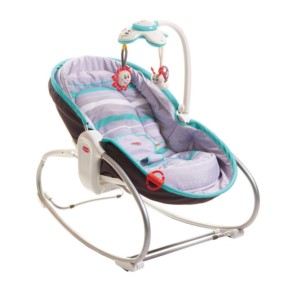Cadeira de Descanso - 3 em 1 - Rocker Napper - Turquesa - Tiny Love